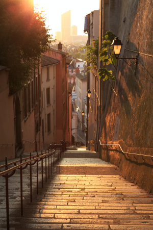 Lieu romantique Lyon